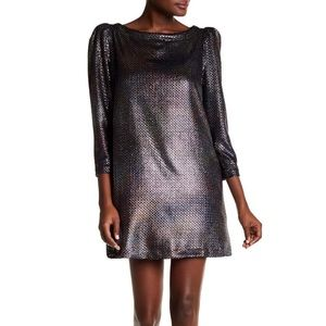 Free People Diamonds Are Forever Metallic Dress